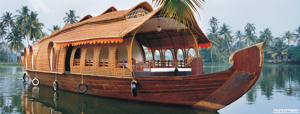 Enjoy your holidays in Kerala Houseboat
